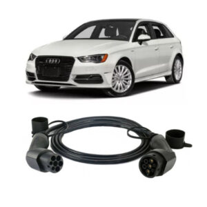 Audi A3 e Tron Charging Cable 300x300 - Type 1 Tethered Cables - EV Cable Shop