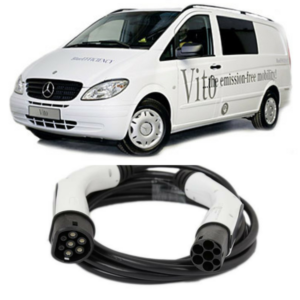 Mercedes Vito E-Cell Van EV Cable