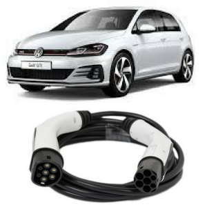 Volkswagen Golf 1.4 TSE EV Cables