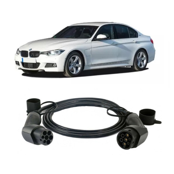 bmw 330e charging cable