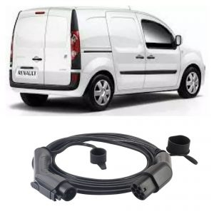 Renault Kangoo Phase1 EV Charging Cable 2 300x300 - Renault Kangoo Phase1 EV Charging Cable - EV Cable Shop