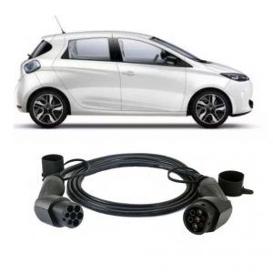 Renault Zoe Charging Cable 1 300x300 - EV Cables UK - EV Cable Shop