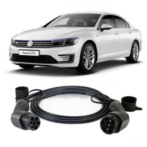 Volkswagen Passat GTE EV Charging Cables 600x600 - Volkswagen Passat GTE EV Charging Cables - EV Cable Shop