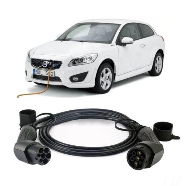 Volvo C30 Charging Cable 2 600x600 - Volvo C30 Charging Cable - EV Cable Shop