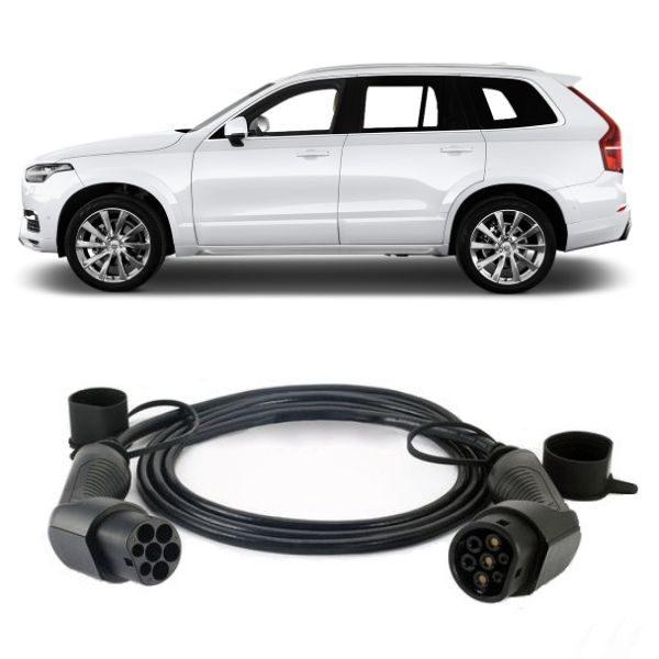 Volvo XC90 T8 EV Charging Cable 600x600 - Volvo XC90 T8 EV Charging Cable - EV Cable Shop