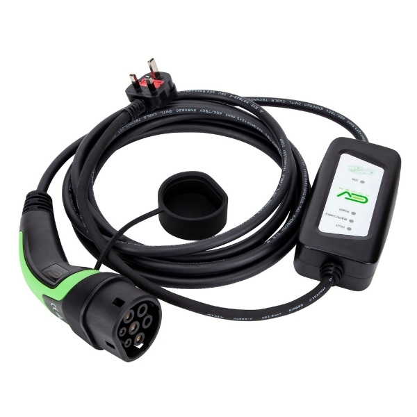 3 Pin To Type 2 Portable EV Charging Cable (4)