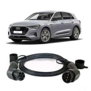 Audi E Tron 55 Quattro EV Charging Cable 2 300x300 - BMW i3 94 Ah REx EV Charging Cable - EV Cable Shop