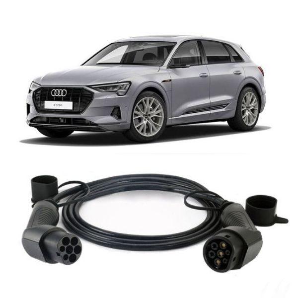 Audi E Tron 55 Quattro EV Charging Cable 2 600x600 - Audi E-Tron 55 Quattro EV Charging Cable - EV Cable Shop