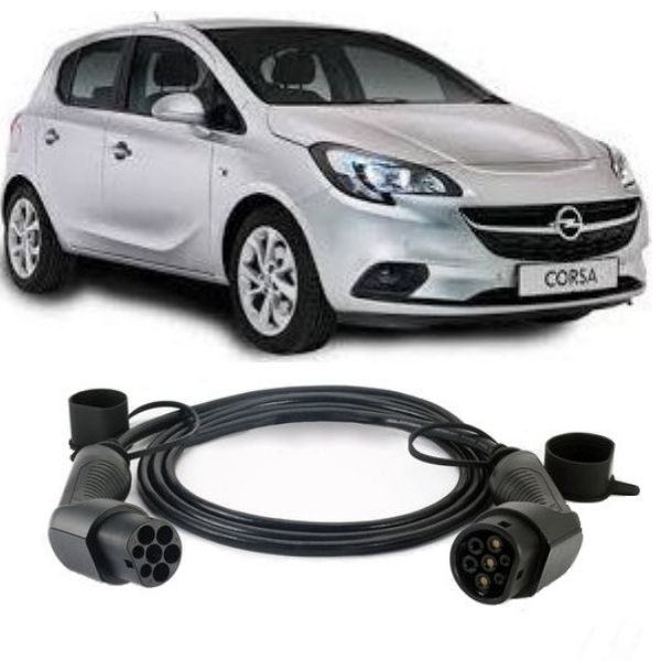 Opel Corsa e EV Charging Cable 2 600x600 - Vauxhall Corsa-e EV Charging Cable - EV Cable Shop