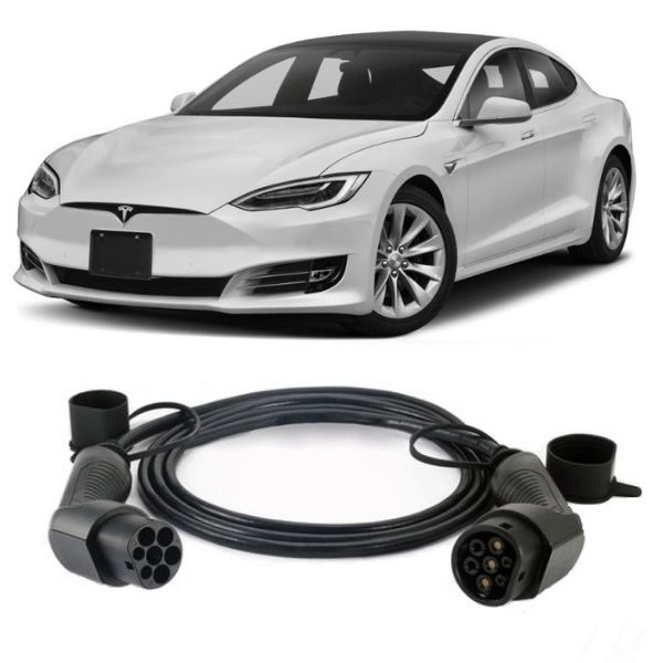 Tesla Model S EV Charging Cable 2 600x600 - Tesla Model S EV Charging Cable - EV Cable Shop
