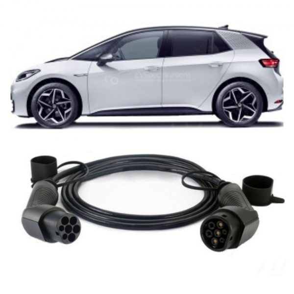 Volkswagen ID.3 Charging Cable 600x600 - Volkswagen ID.3 Charging Cable - EV Cable Shop