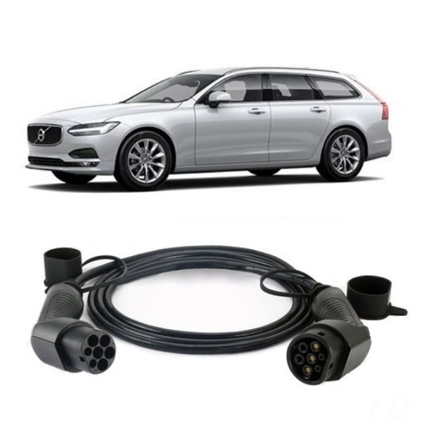 Volvo V90 EV Charging Cable 3 600x600 - Volvo V90 EV Charging Cable - EV Cable Shop
