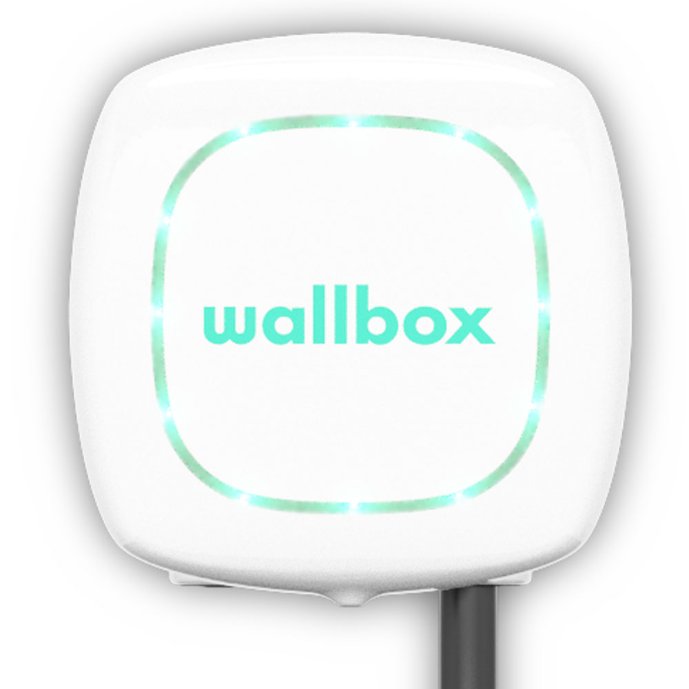 pulsar white - Wallbox Pulsar Plus Charging Station - EV Cable Shop