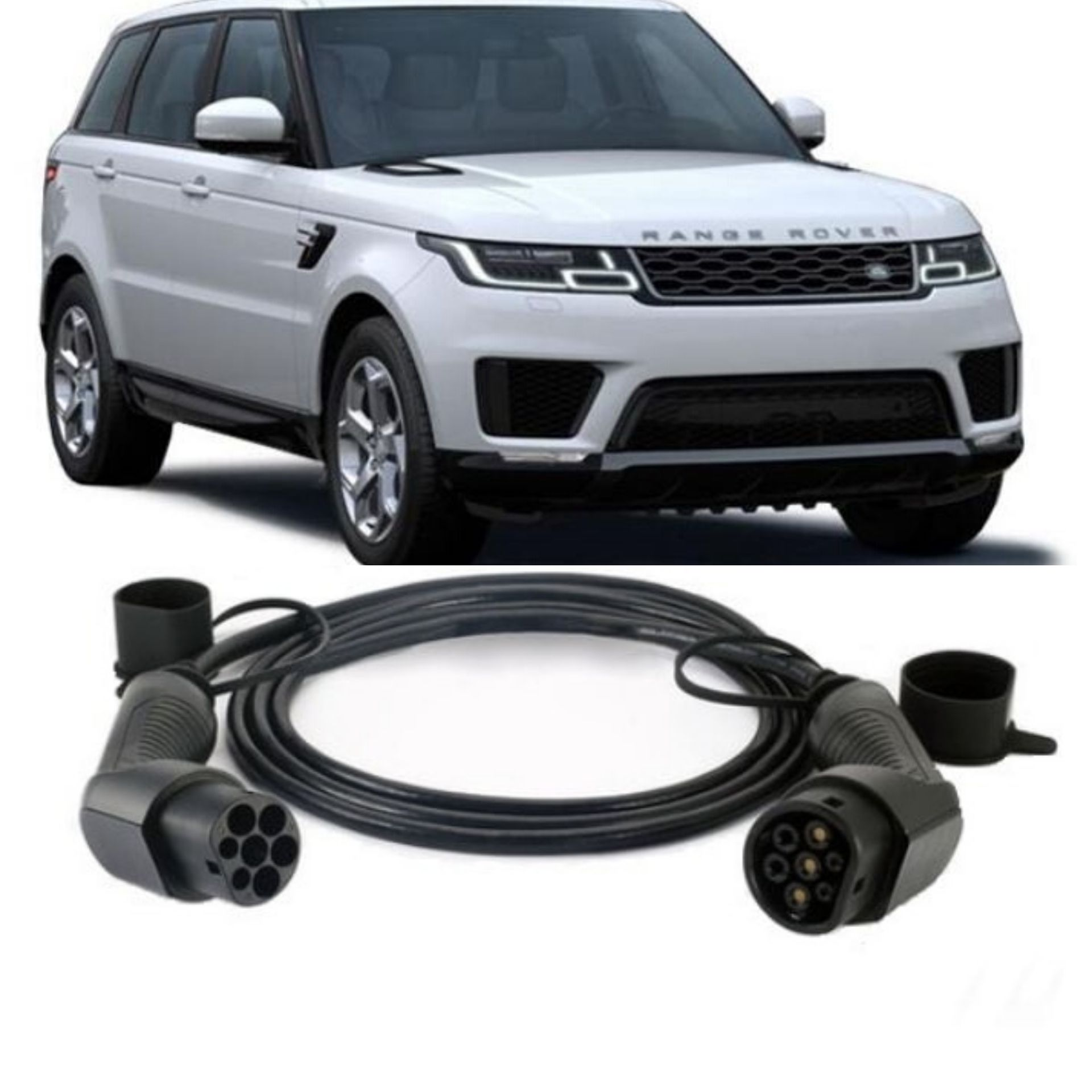 range rover charging cable