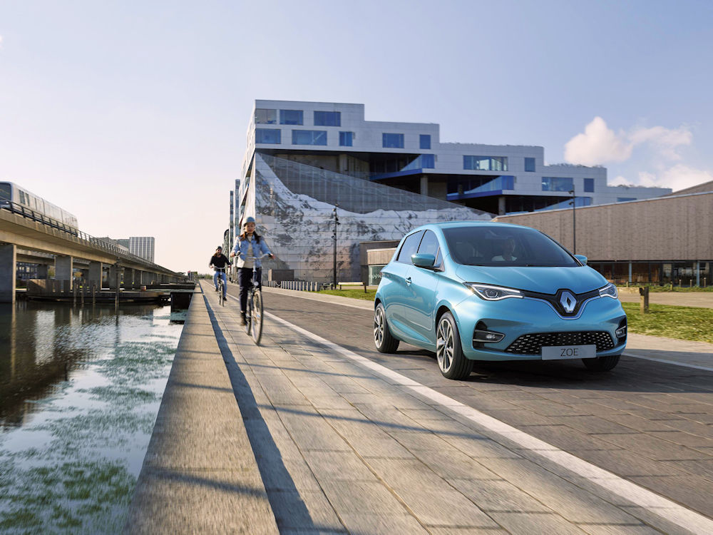 Zoe - Small Electric Cars: The Ideal City Runarounds. - EV Cable Shop